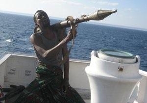 Сомалийские пираты захватили два судна. В плену оказался украинец