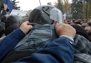 Фотогалерея: Штурм Рады-2. Восстание чернобыльцев набирает обороты