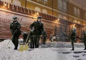 В Москве выпало беспрецедентное количество снега