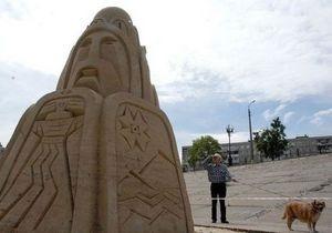 Завтра в Киеве откроется выставка песочных скульптур
