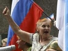 Митинг памяти Шухевича в Симферополе: коммунистов оказалось больше, чем националистов