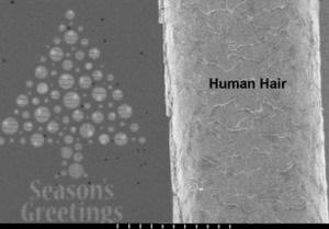 Шотландские ученые создали нано-открытку