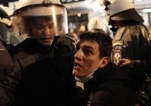 В Греции произошли столкновения полиции с анархистами: задержаны 162 человека