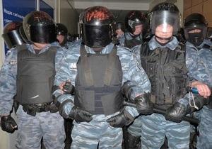 Битва за протоколы: Беркут взял штурмом здание окружкома в Первомайске