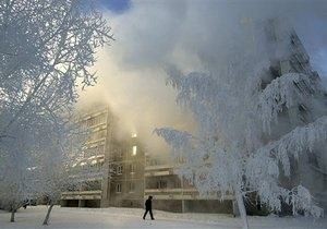 В Якутии зафиксирован почти шестидесятиградусный мороз