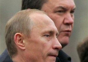 Ъ: Янукович с Путиным в Москве обсудят газовый вопрос