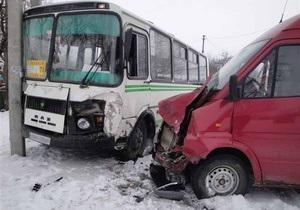 В Киевской области вследствие ДТП травмированы четыре человека