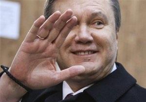 Янукович поздравил украинских металлургов и горняков