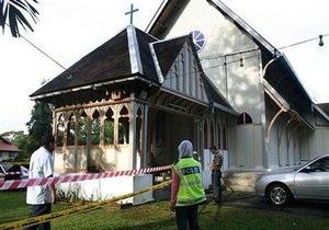 Новые нападения на христианские церкви произошли в Малайзии