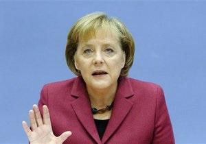Меркель: Германия поддерживает любые меры, направленные на спасение евро