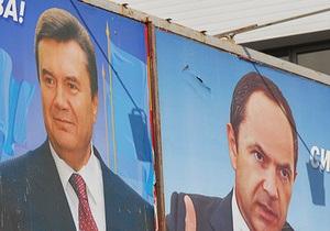 Выборы-2010 в Москве: большинство украинцев проголосовали за Януковича и Тигипко