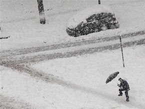 На северные штаты США обрушились сильные снегопады