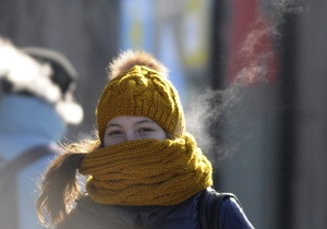 Опрос: На большинство украинцев морозы никак не повлияли