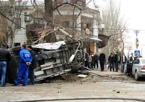 Авария Феодосия - ДТП - Авария в Феодосии: За рулем автомобиля, который столкнулся со скорой, был сотрудник СБУ