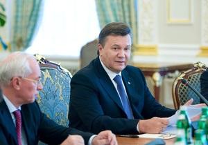 Янукович озабочен нарушением прав украинцев, которые не имеют регистрации