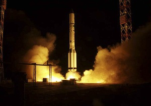 Три спутника Глонасс-М успешно вывели на целевую орбиту