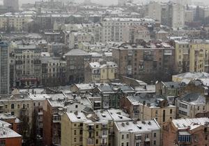 В центре Киева реконструируют фасады отдельных зданий
