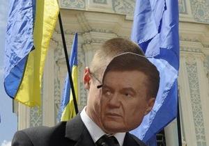 Послание Януковича: суд запретил проводить перед Дворцом Украина акции протеста