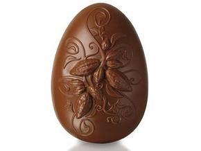 В Бразилии к Пасхе изготовили гигантское шоколадное яйцо