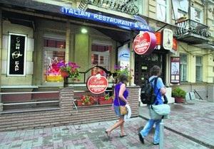 Возле ресторана дочери Тимошенко снесли летнюю площадку