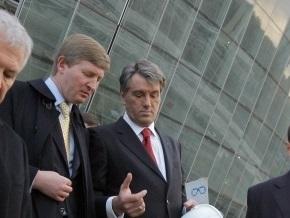 Ющенко примет участие в открытии Донбасс-Арены