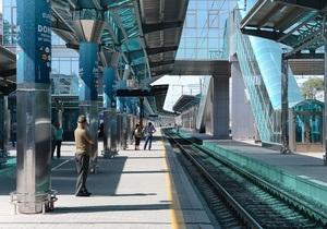 Журналисты отравились во время открытия железнодорожного вокзала в Донецке