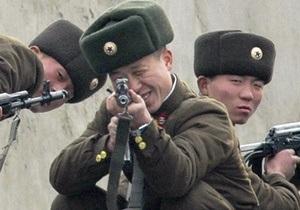 На границе двух Корей произошла перестрелка