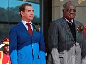 Медведев оказался не готов к холодным ночам в Намибии