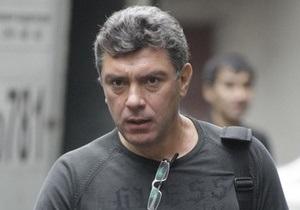 Немцов не советует Прохорову продолжать политическую борьбу