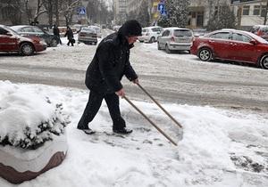 Гололед - Погода в Украине - Азаров велел пяти ведомствам ликвидировать гололед