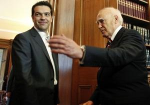 Левый радикал попробует сформировать кабинет в Греции