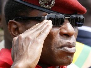 Еврокомиссия считает, что глава военной хунты Гвинеи должен предстать перед судом