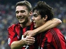 Кака зовет Шевченко обратно в Милан