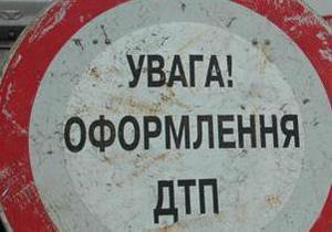 Киевская ГАИ ищет водителя, скрывшегося с места ДТП