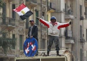 Власти Египта начали переговоры с частью оппозиции