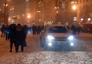 ПР раскритиковала Тимошенко за борьбу со снегопадами
