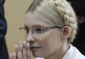 Пресс-секретарь Тимошенко заявляет, что экс-премьера незаконно лишают права на охрану здоровья
