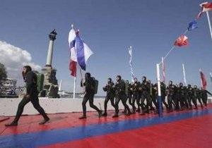 Грызлов: Проведение совместного Дня ВМФ - желание народов Украины и России