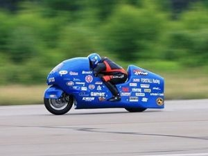 Suzuki Hayabusa разогнали до 502 километров в час