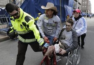 Трое жертв теракта в Бостоне находятся в критическом состоянии