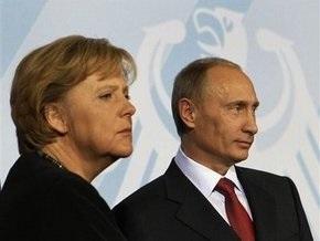 Меркель: Нужно проследить, чтобы российский газ не пропадал где-то в Украине