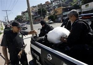 В Рио-де-Жанейро конфисковали 40 тонн марихуаны