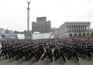 В парадах ко Дню Независимости примут участие 10 тысяч военнослужащих