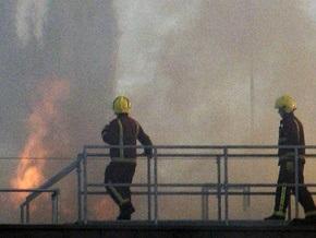 В лондонском районе Сохо горит офисное здание