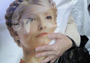 Суд по делу Тимошенко объявил перерыв на 10 минут