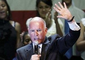 Шварценеггера на посту губернатора Калифорнии сменил демократ Джерри Браун