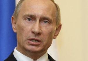 Путин осудил мировые СМИ за освещение смерти Каддафи
