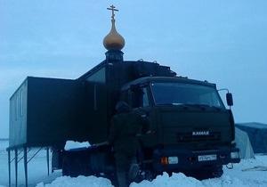 Православные десантники смогут помолиться в передвижном храме - Камаз - российская армия