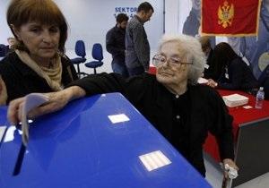 В Черногории завершилось голосование на досрочных выборах