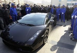 Американец разбил выигранную Lamborghini через шесть часов езды